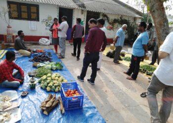 Organic Market in Muniguda, Rayagada District, Odisha. Credit: Apresh Mishra/IndiaCSR Network