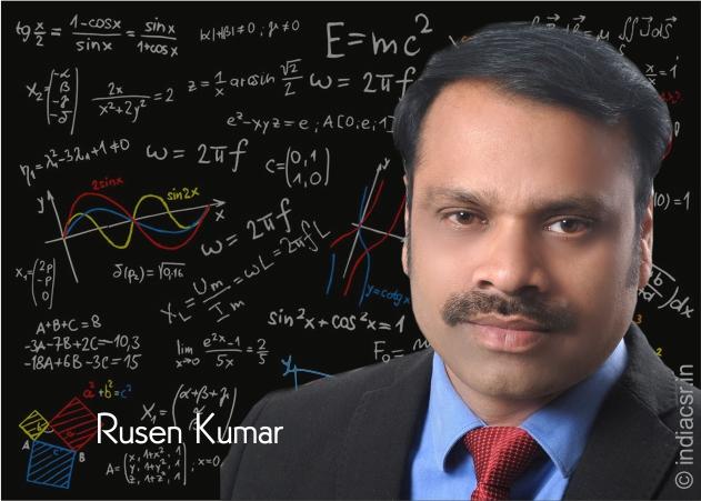 Rusen Kumar, Founder, India CSR Network