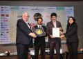 Sonal Choithani, Chief Communication Officer, Aluminium and Power Business, Vedanta Limited receiving the honour