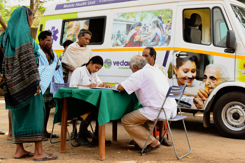 A decade's efforts towards grassroots Health Coverage in Jharsuguda by Vedanta
