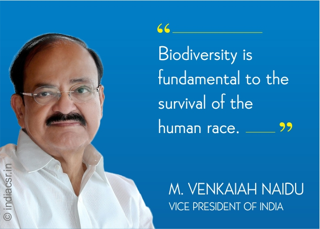 Biodiversity is fundamental to the survival of the human race, Says