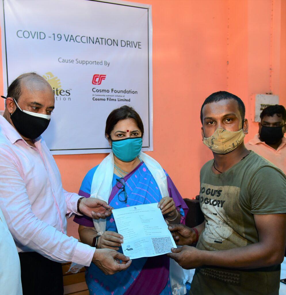 Cosmo Foundation organises vaccination drive for Delhi